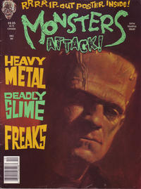 Cover Thumbnail for Monsters Attack (Globe Communications Corp., 1989 series) #5