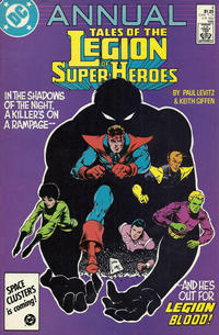 Cover Thumbnail for Tales of the Legion of Super-Heroes Annual (DC, 1986 series) #4 [Direct]