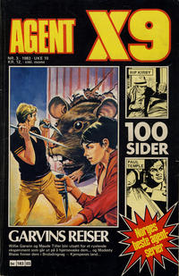 Cover Thumbnail for Agent X9 (Semic, 1976 series) #3/1983