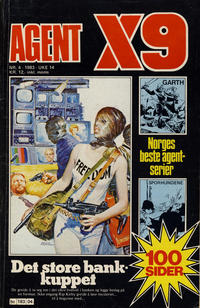 Cover Thumbnail for Agent X9 (Semic, 1976 series) #4/1983