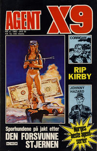 Cover Thumbnail for Agent X9 (Semic, 1976 series) #8/1983