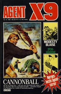 Cover Thumbnail for Agent X9 (Semic, 1976 series) #10/1983