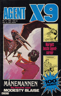 Cover Thumbnail for Agent X9 (Semic, 1976 series) #11/1983