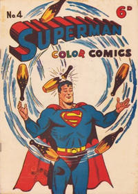 Cover Thumbnail for Superman (K. G. Murray, 1947 series) #4
