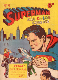 Cover Thumbnail for Superman (K. G. Murray, 1947 series) #8