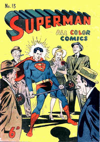 Cover Thumbnail for Superman (K. G. Murray, 1947 series) #13