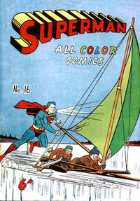Cover Thumbnail for Superman (K. G. Murray, 1947 series) #16