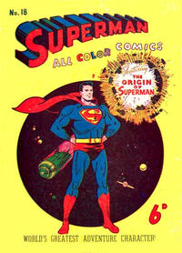 Cover Thumbnail for Superman (K. G. Murray, 1947 series) #18