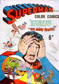 Cover Thumbnail for Superman (K. G. Murray, 1947 series) #20