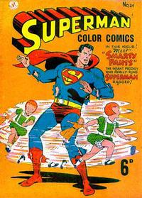 Cover Thumbnail for Superman (K. G. Murray, 1947 series) #24