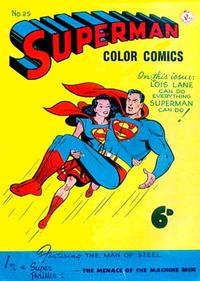 Cover Thumbnail for Superman (K. G. Murray, 1947 series) #25