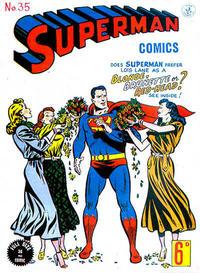 Cover Thumbnail for Superman (K. G. Murray, 1947 series) #35