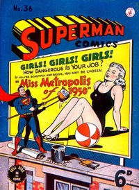 Cover Thumbnail for Superman (K. G. Murray, 1947 series) #36