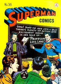 Cover Thumbnail for Superman (K. G. Murray, 1947 series) #38