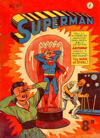 Cover Thumbnail for Superman (K. G. Murray, 1947 series) #47