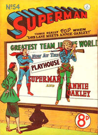 Cover Thumbnail for Superman (K. G. Murray, 1947 series) #54