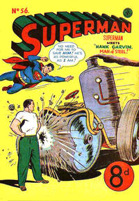 Cover Thumbnail for Superman (K. G. Murray, 1947 series) #56