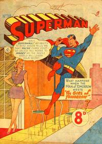 Cover Thumbnail for Superman (K. G. Murray, 1947 series) #58