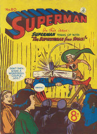 Cover Thumbnail for Superman (K. G. Murray, 1947 series) #80