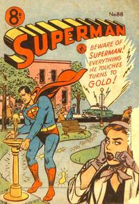 Cover Thumbnail for Superman (K. G. Murray, 1947 series) #88