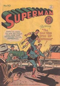 Cover Thumbnail for Superman (K. G. Murray, 1947 series) #90