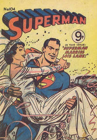 Cover Thumbnail for Superman (K. G. Murray, 1947 series) #104