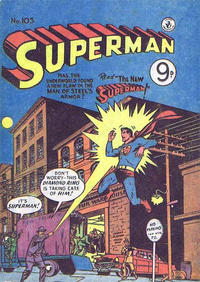 Cover Thumbnail for Superman (K. G. Murray, 1947 series) #105
