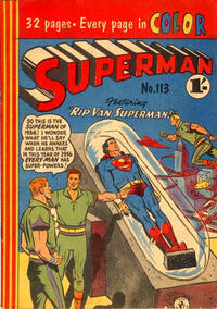 Cover Thumbnail for Superman (K. G. Murray, 1947 series) #113