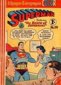 Cover Thumbnail for Superman (K. G. Murray, 1947 series) #119