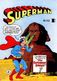 Cover Thumbnail for Superman (K. G. Murray, 1947 series) #132