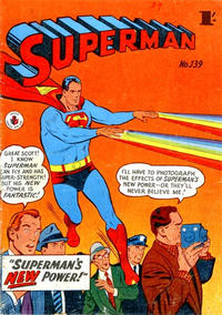 Cover Thumbnail for Superman (K. G. Murray, 1947 series) #139