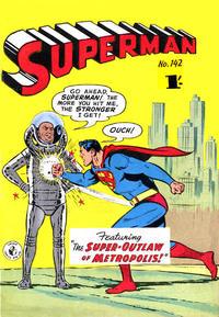 Cover Thumbnail for Superman (K. G. Murray, 1947 series) #142
