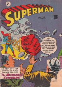 Cover Thumbnail for Superman (K. G. Murray, 1947 series) #129