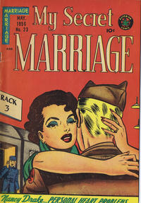 Cover Thumbnail for My Secret Marriage (Superior, 1953 series) #23
