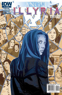 Cover Thumbnail for Angel: Illyria: Haunted (IDW, 2010 series) #1 [Elena Casagrande Retailer Incentive Cover]