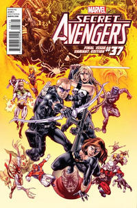 Cover Thumbnail for Secret Avengers (Marvel, 2010 series) #37 [Final Issue Variant Edition]