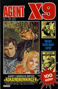 Cover Thumbnail for Agent X9 (Semic, 1976 series) #1/1984