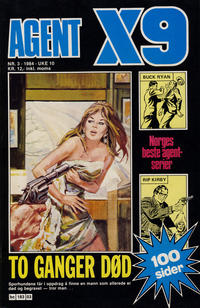 Cover Thumbnail for Agent X9 (Semic, 1976 series) #3/1984