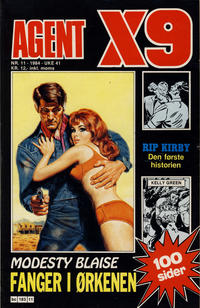Cover Thumbnail for Agent X9 (Semic, 1976 series) #11/1984