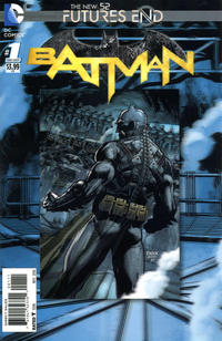 Cover Thumbnail for Batman: Futures End (DC, 2014 series) #1 [3-D Motion Cover]