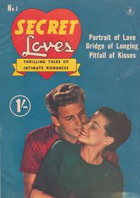 Cover Thumbnail for Secret Loves (K. G. Murray, 1952 series) #1