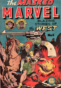Cover Thumbnail for The Masked Marvel (Atlas, 1953 ? series) #5