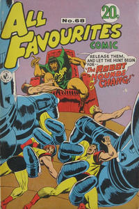 Cover Thumbnail for All Favourites Comic (K. G. Murray, 1960 series) #68