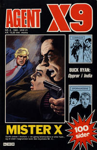 Cover Thumbnail for Agent X9 (Semic, 1976 series) #6/1985