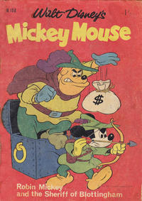 Cover Thumbnail for Walt Disney's Mickey Mouse (W. G. Publications; Wogan Publications, 1956 series) #106
