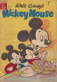 Cover Thumbnail for Walt Disney's Mickey Mouse (W. G. Publications; Wogan Publications, 1956 series) #17