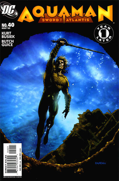 Cover for Aquaman: Sword of Atlantis (DC, 2006 series) #40