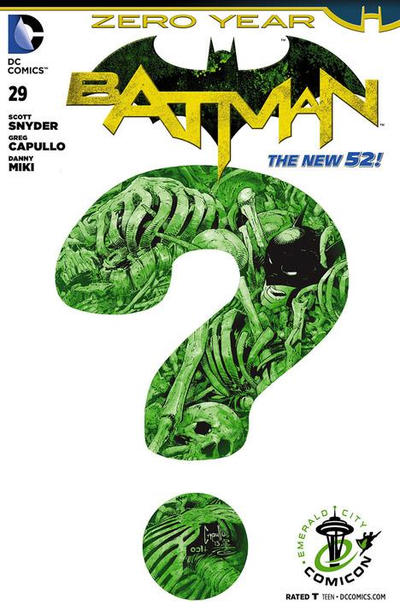 Cover for Batman (DC, 2011 series) #29