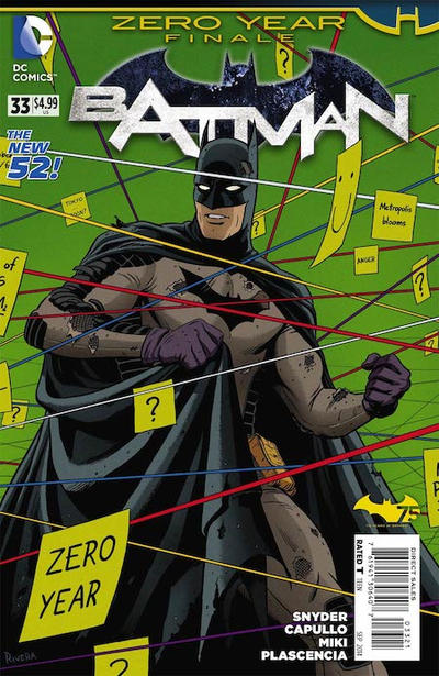 Cover for Batman (DC, 2011 series) #33
