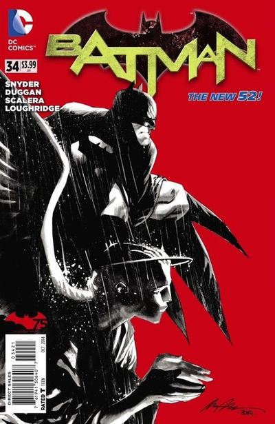 Cover for Batman (DC, 2011 series) #34 [Combo-Pack]